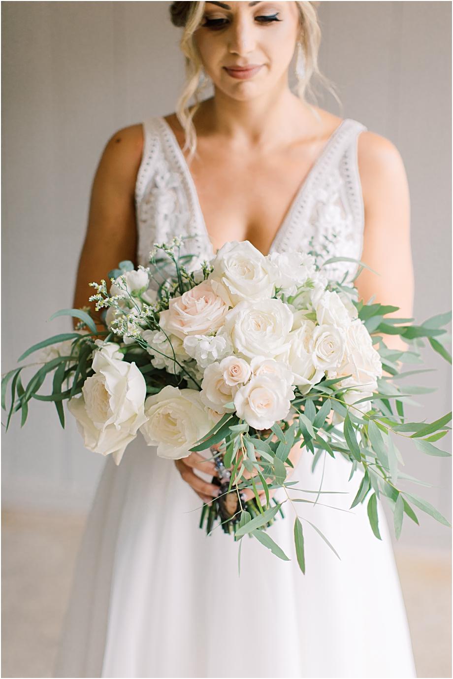 DFW Event Design Bouquet | John James Audubon Center Wedding