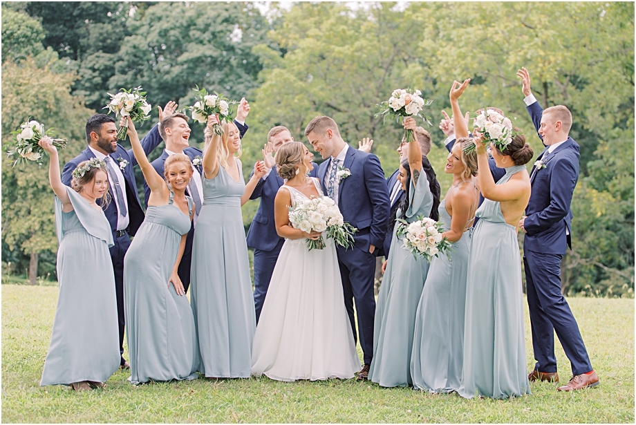 John James Audubon Center Wedding party