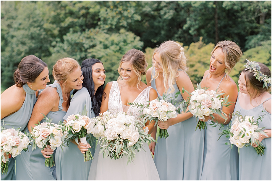 Show me your mumu bridesmaid dresses | John James Audubon Center Wedding