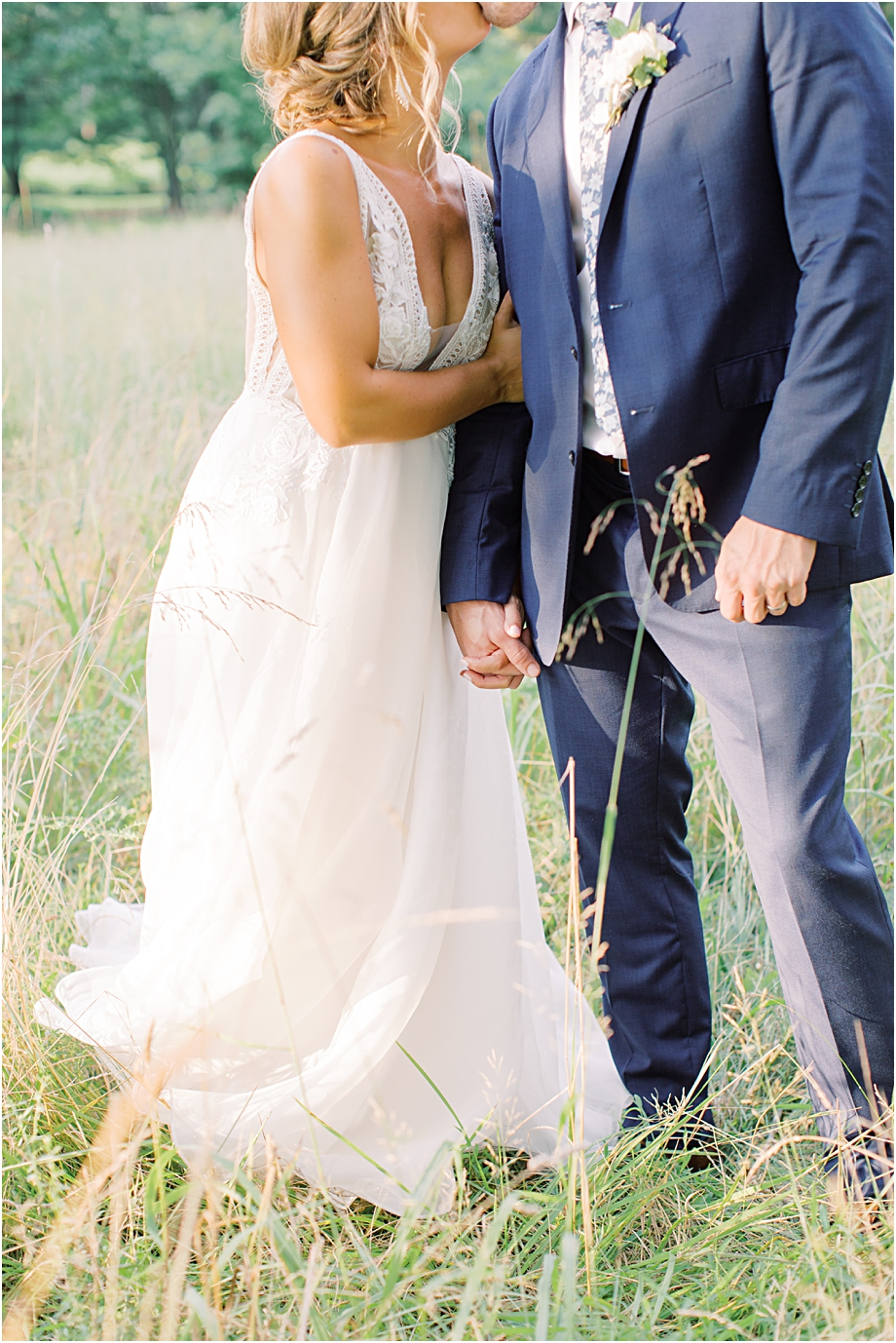 sunset wedding portraits | John James Audubon Center Wedding