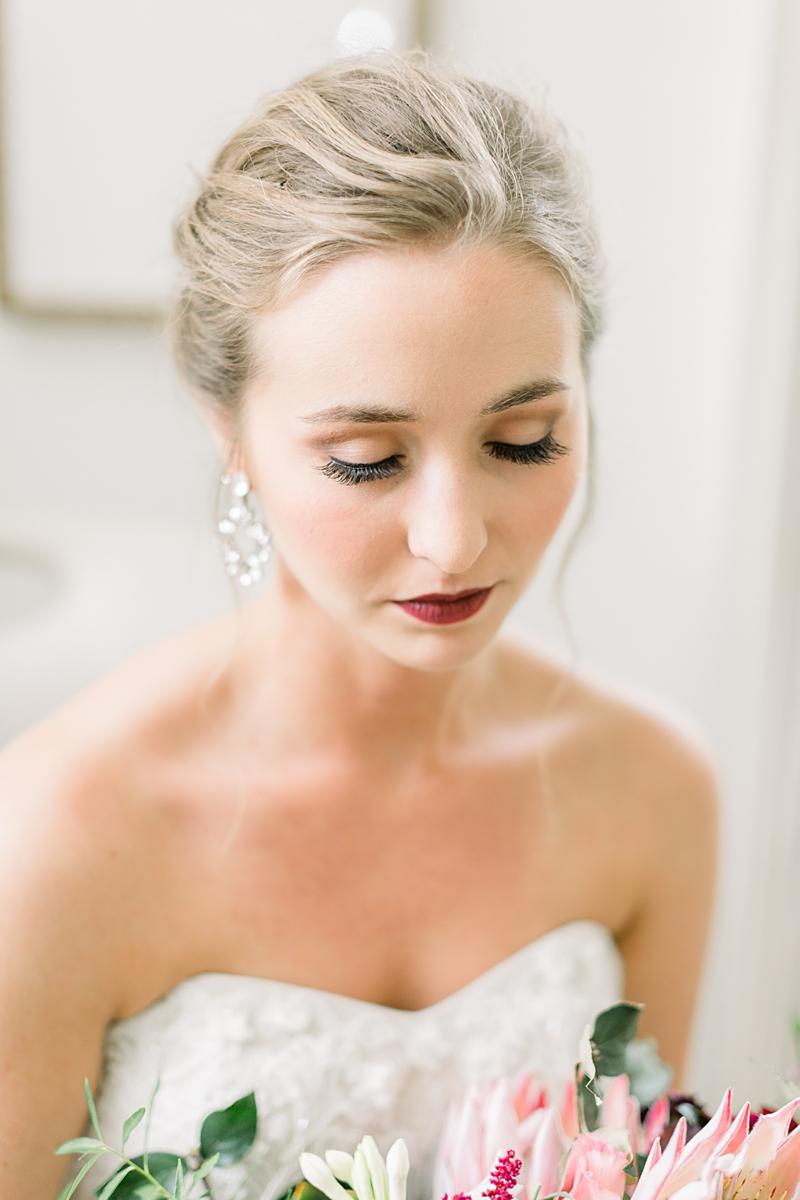 Bride getting ready | Lancaster wedding photographer