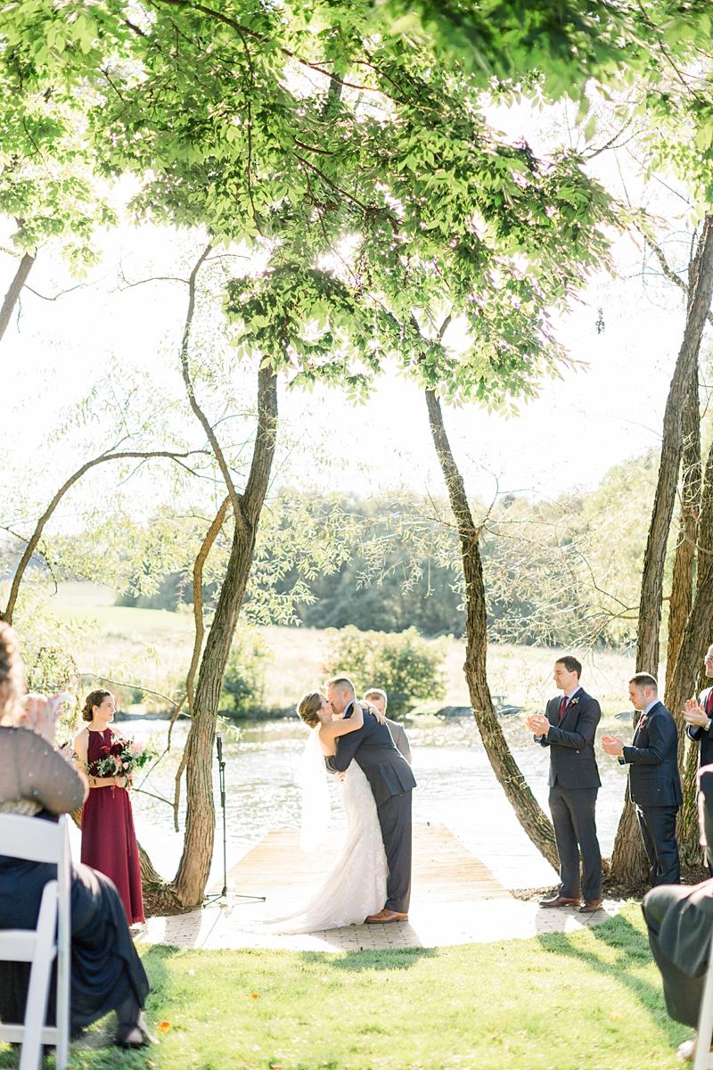 the farm at eagles ridge ceremony | lancaster wedding photographer