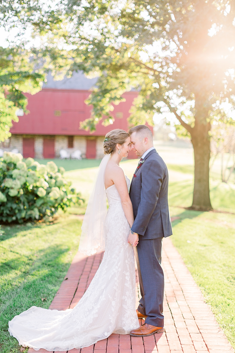 sunset portraits | lancaster wedding photographer