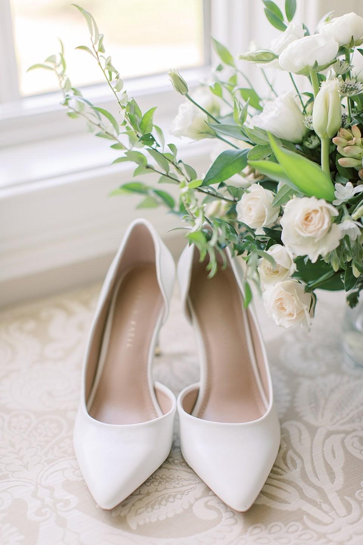 white bridal shoes | wedding details | ashford estate wedding photographer sarah canning