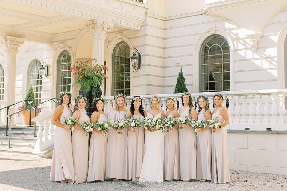 Show Me Your MuMu Bridesmaid Dresses - show me the ring crisp | PA wedding photographer Sarah Canning