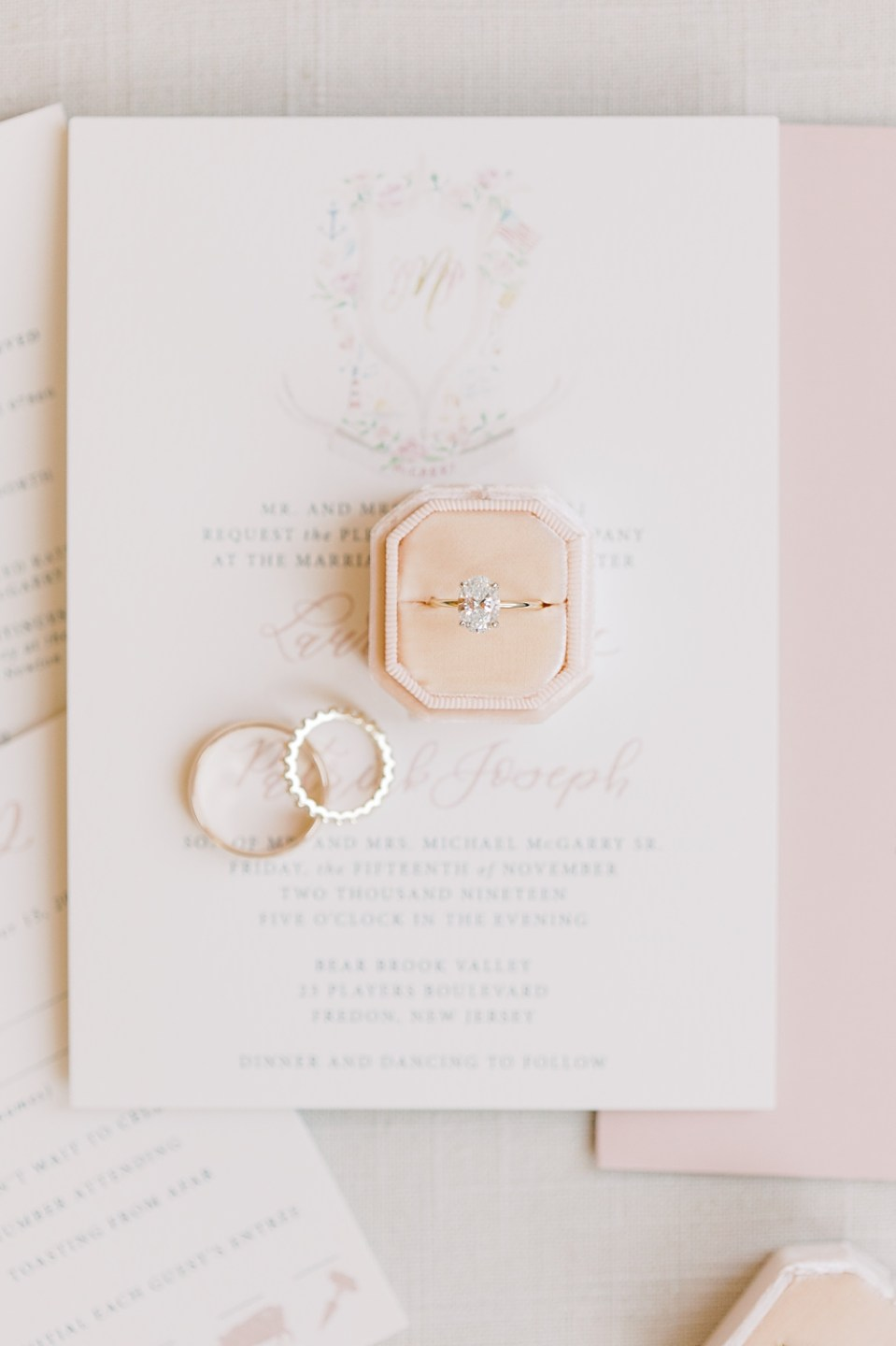 lace and bell invitation suite | bear brook valley wedding | sarah canning photography