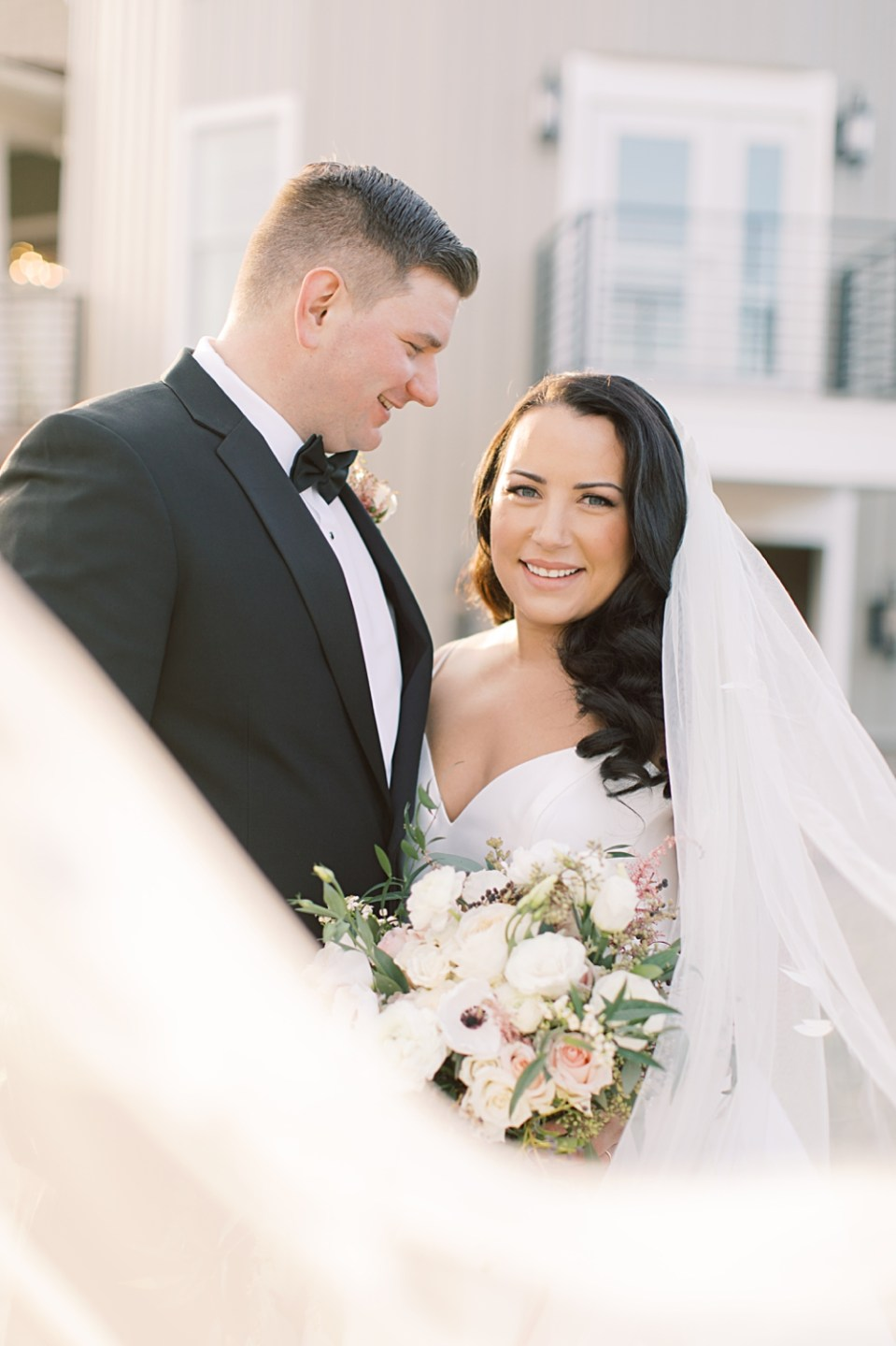 veil shot | new jersey wedding venue | sarah canning photography