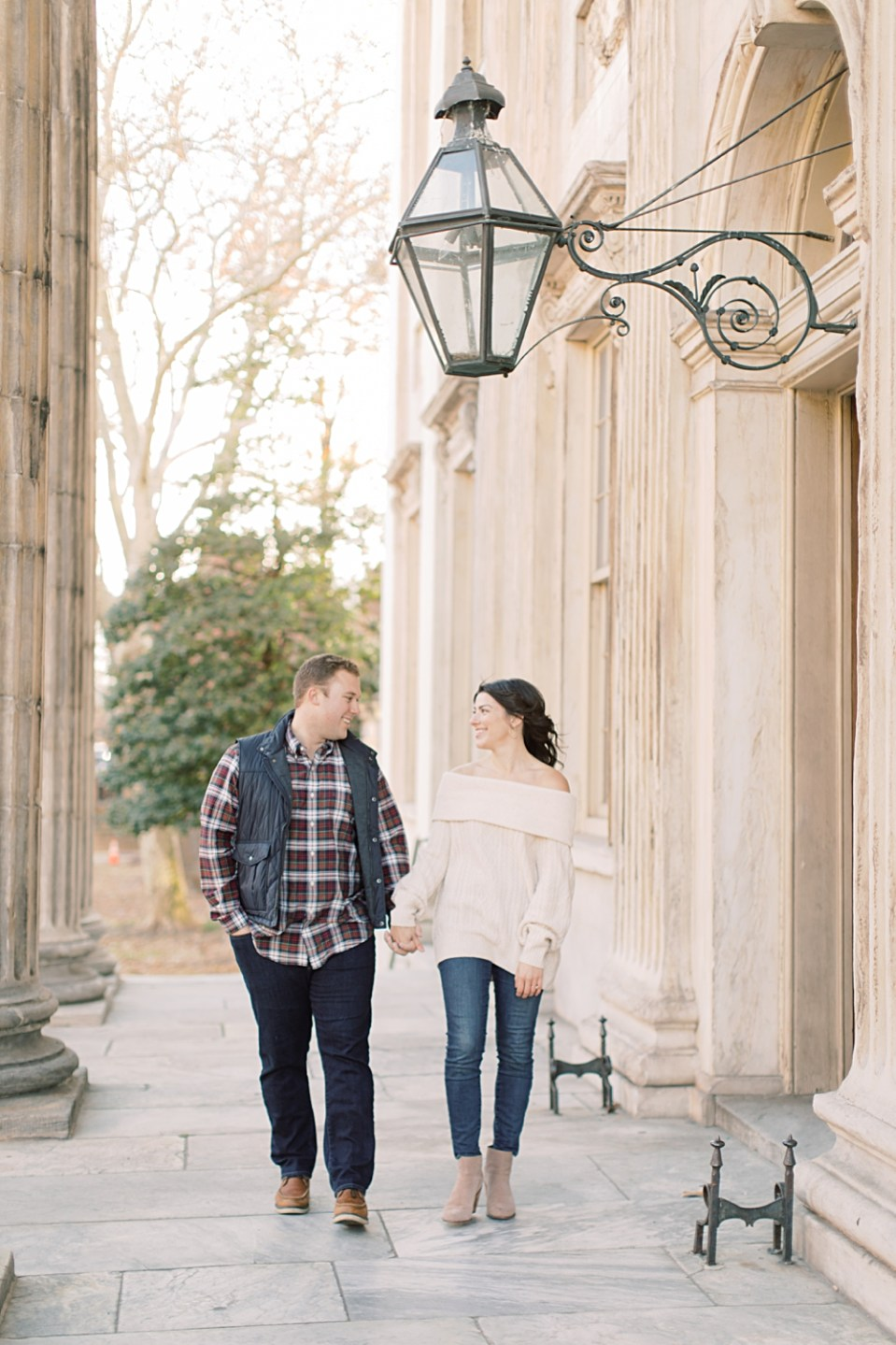 Old City Philadelphia Engagement Session | Sarah Canning Photography