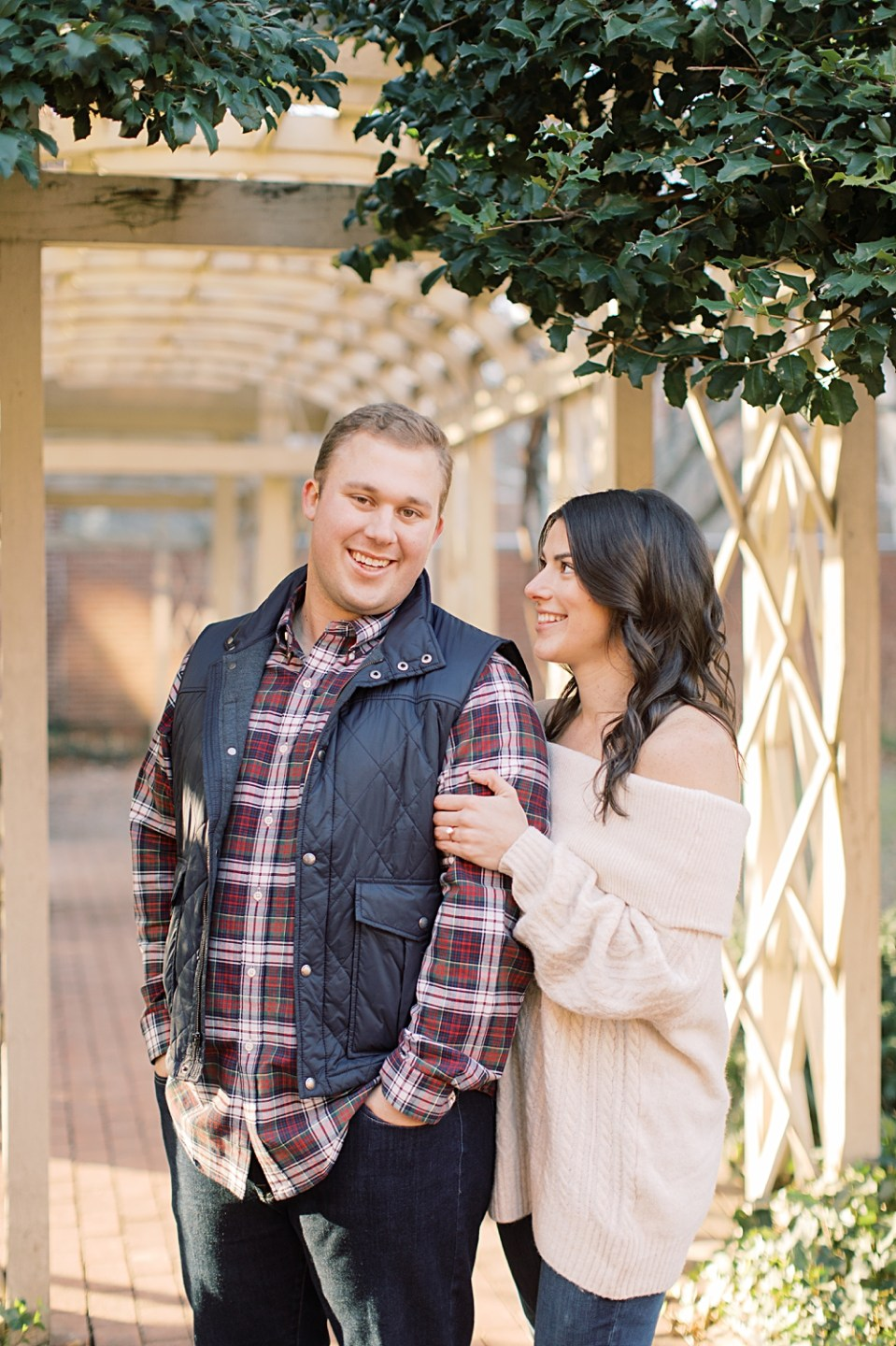 18th Century Garden Engagement Photos | Philadelphia Engagement Session