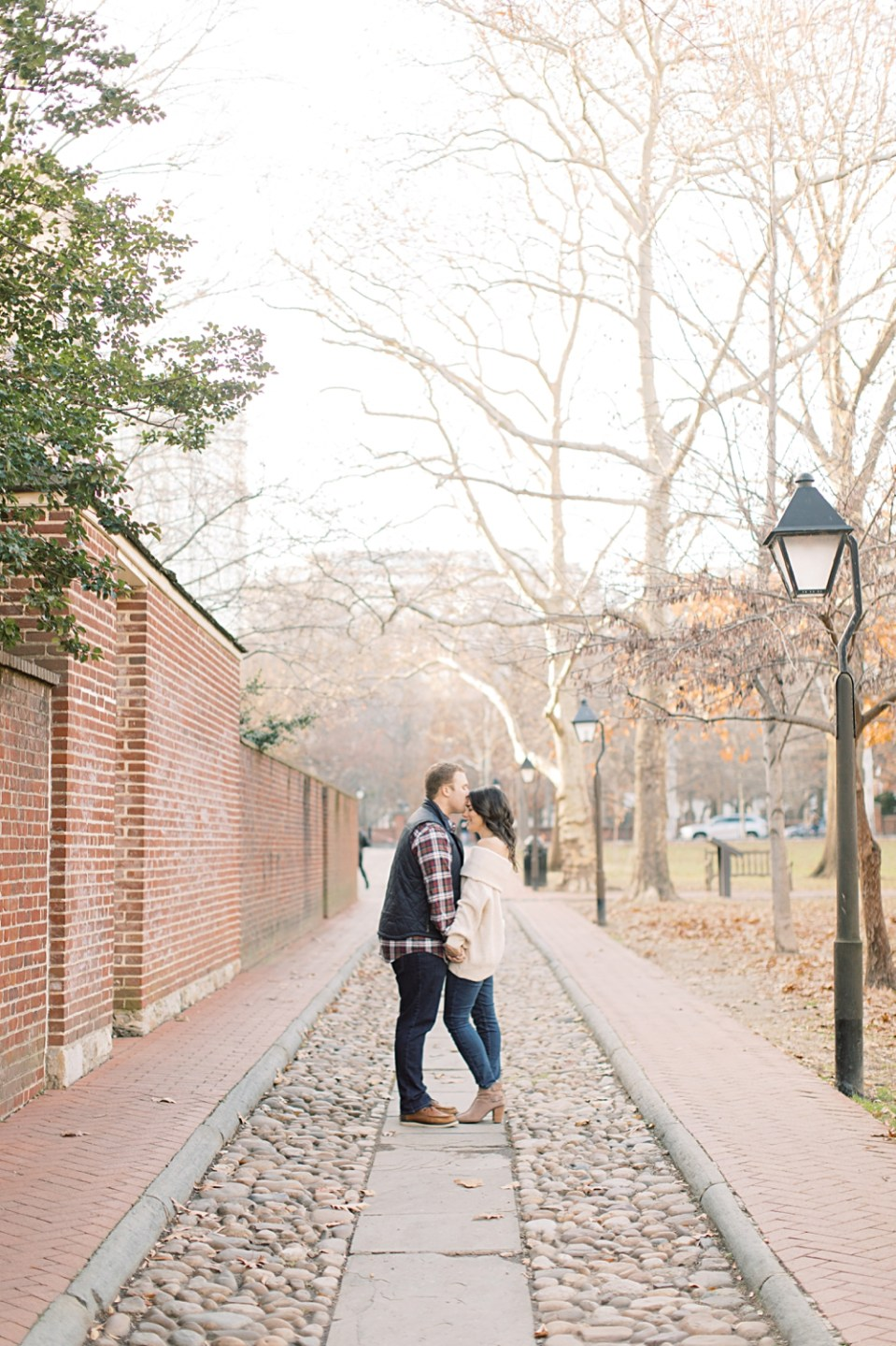 Historic Old City Philadelphia Engagement Session | Sarah Canning Photography