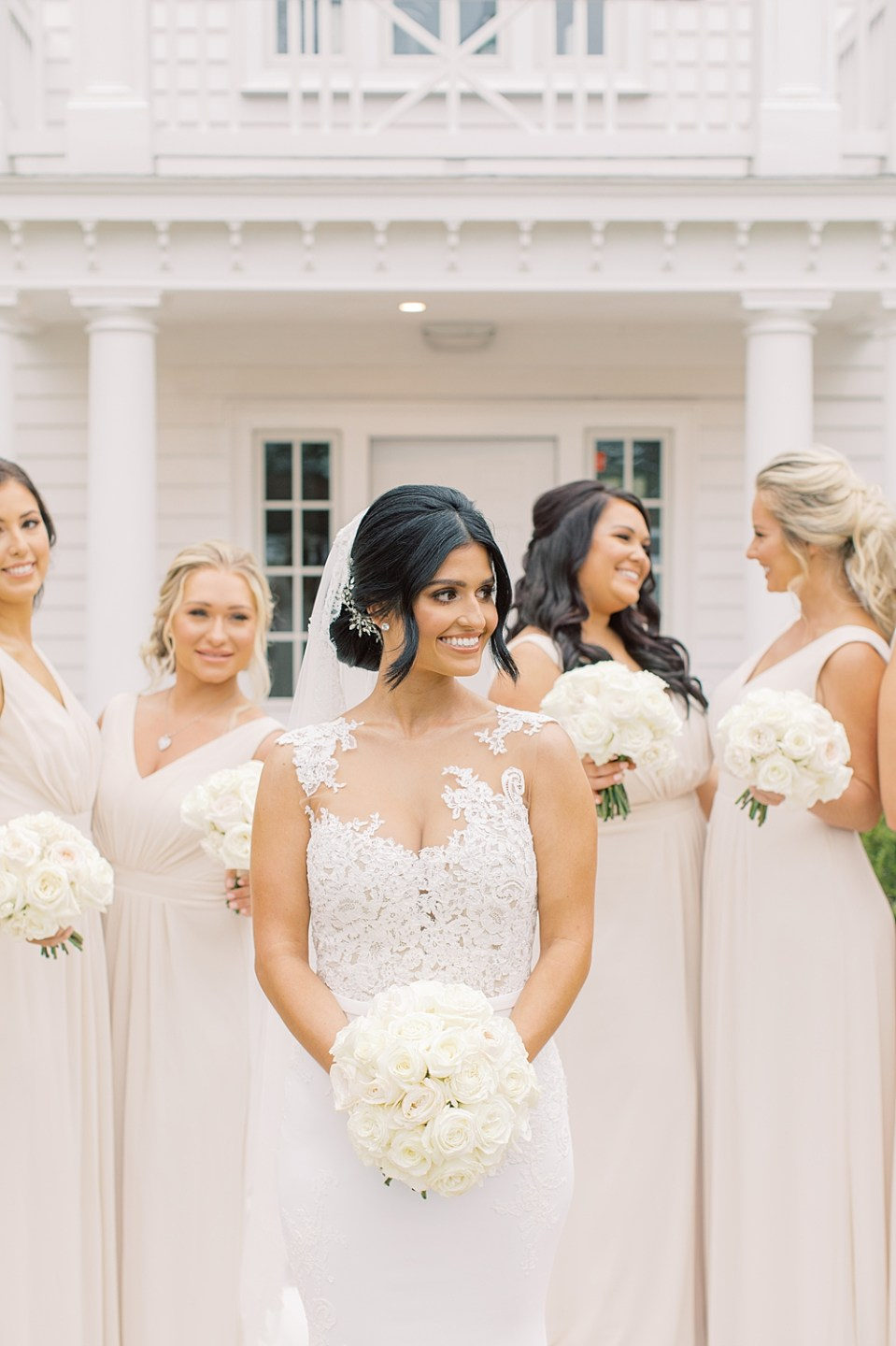 classic bride | ryland inn wedding photography | sarah canning photography