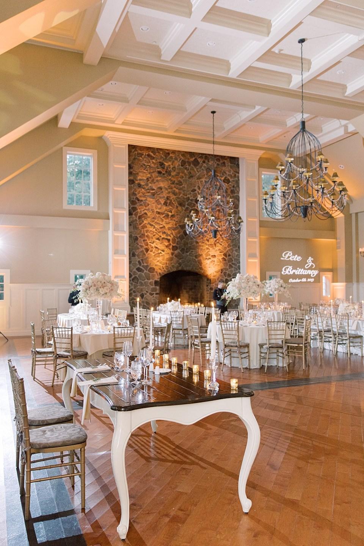 the ryland inn grand ballroom | Sarah Canning Photography | new jersey wedding photography