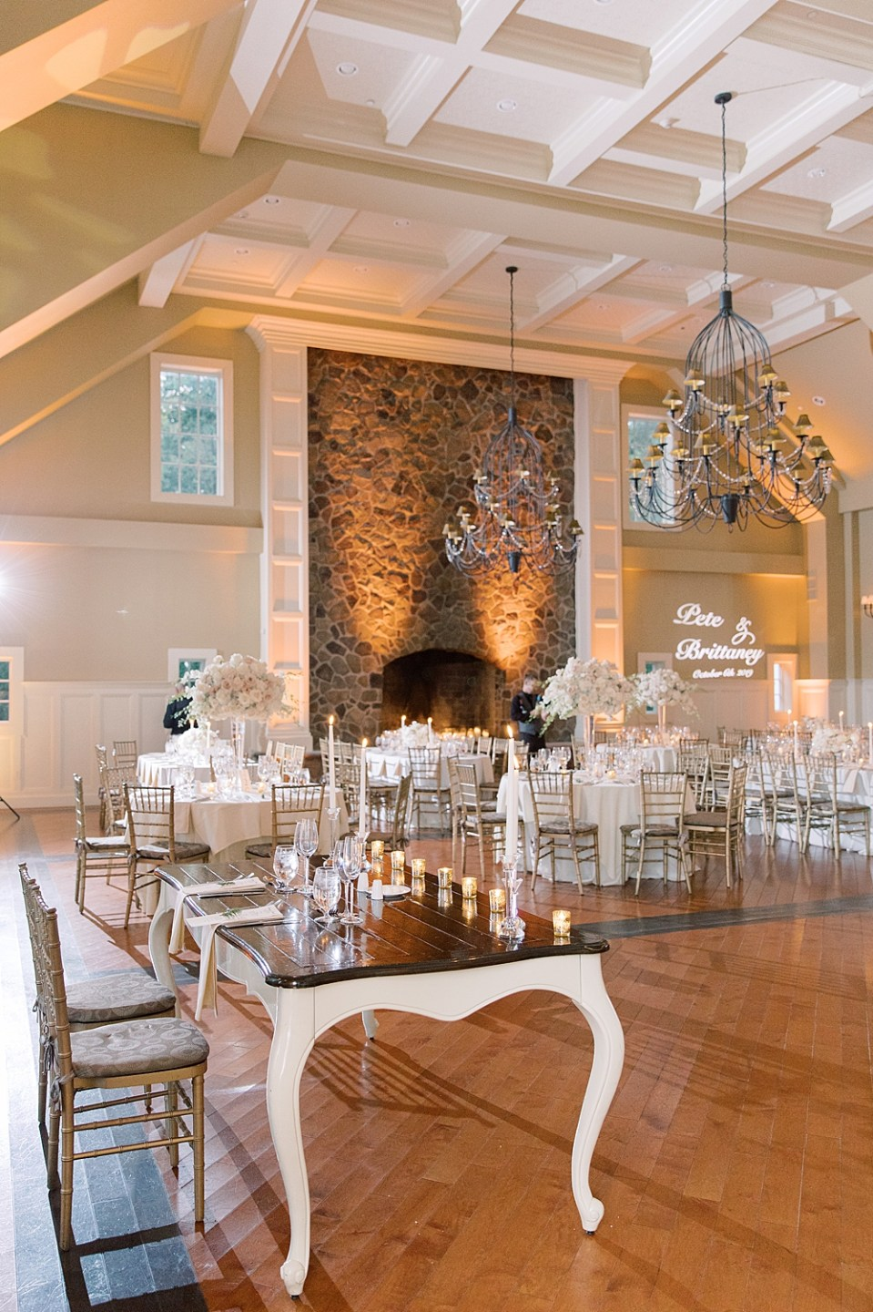 the ryland inn grand ballroom | Sarah Canning Photography | new jersey wedding photography