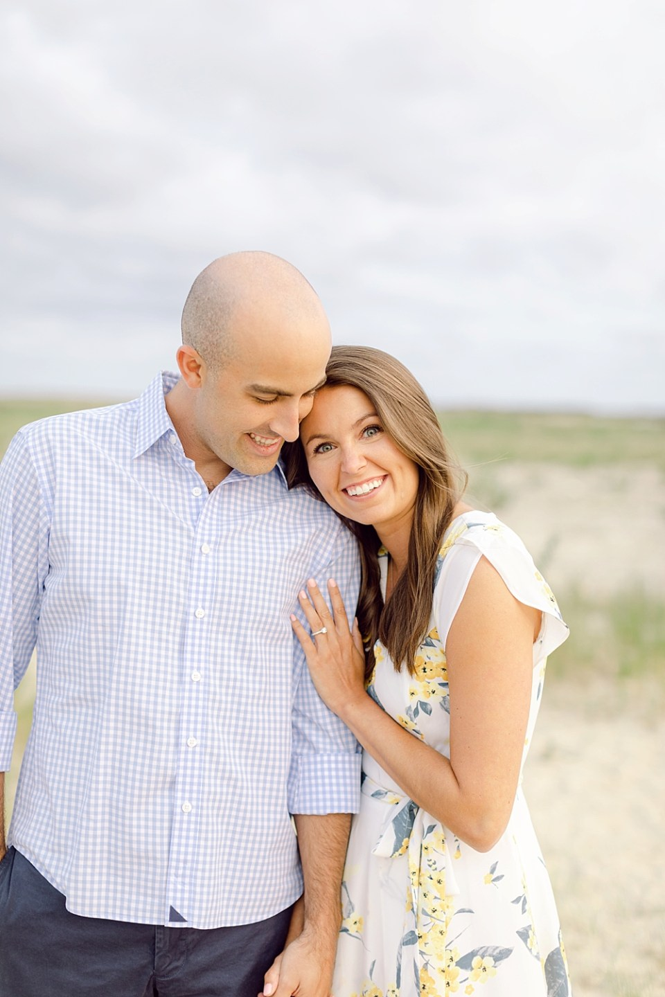 barnegat lighthouse engagement photos | new jersey wedding photographer sarah canning