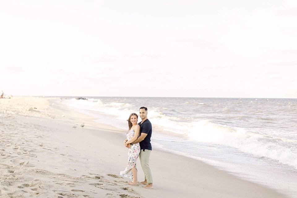 Long Branch Beach Engagement | New Jersey Wedding Photographer Sarah Canning