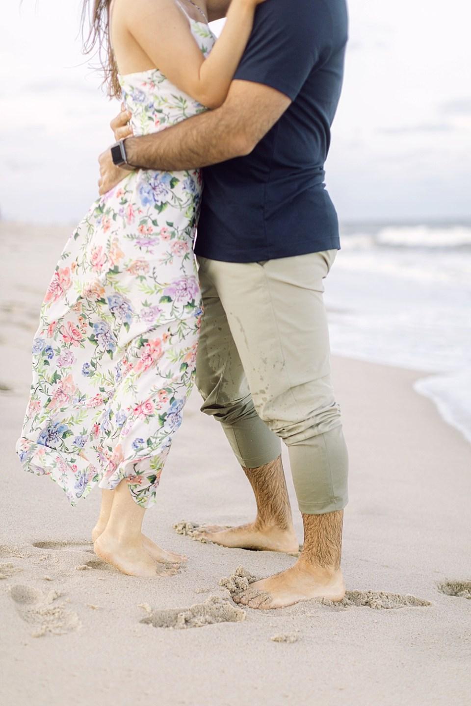 Long Branch Beach Engagement   New Jersey Wedding Photographer Sarah Canning