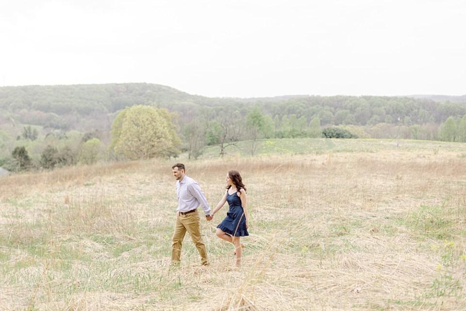 Natural Lands' Binky Lee Preserve engagement session | Sarah Canning Photography
