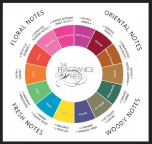 Fragrance Wheel (Michael Edwards)