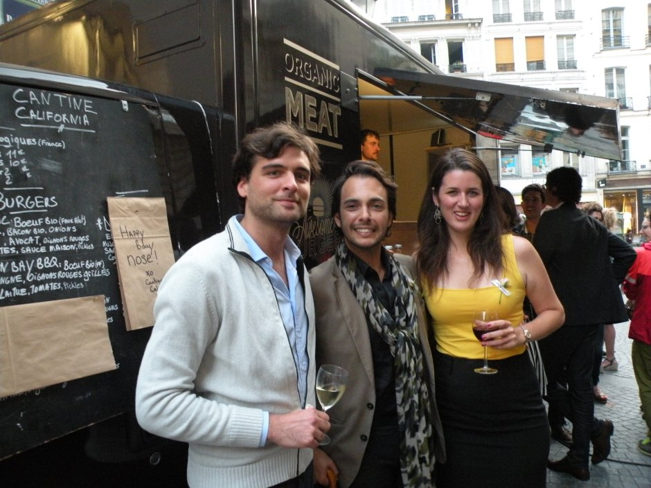 Cristiano Canali (Assistant Perfumer Trainee presso IFF) and friends
