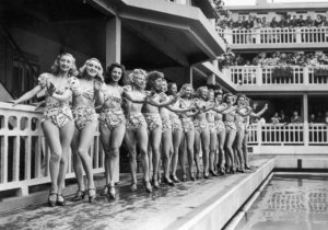 1. Bathing beauties at Molitor