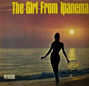 the Girl from Ipanema album Cover