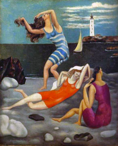 picasso-les-baigneuses-1918-women-on-the-beach