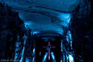 The impressive salt cathedral of Zipaquirá