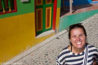 Dorine in Guatapé