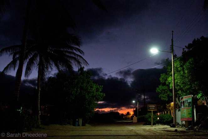 Sunset on Isabela