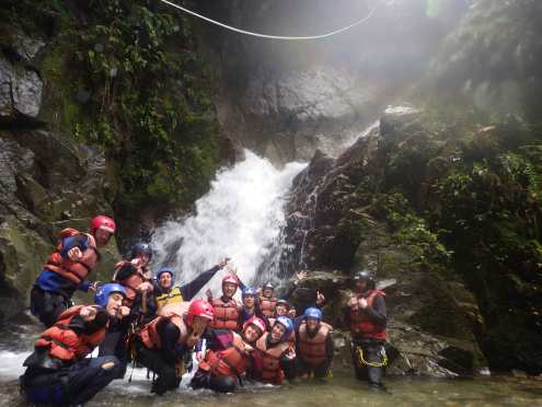 Canyoning - Picture from Geotours