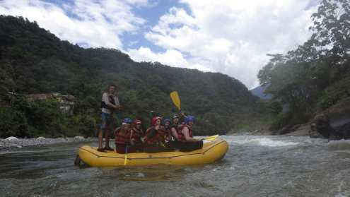 Rafting in Baños - Pictures by Geotours