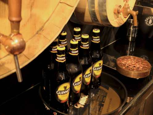 Guinness Special Export: brewed specially for Belgium.