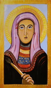 An icon painting
