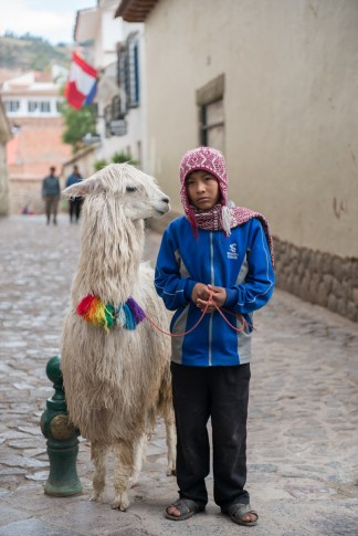 Boy-and-llama-Cusco-Peru-1