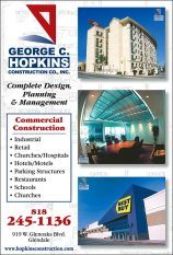 George C. Hopkins quarter page ad