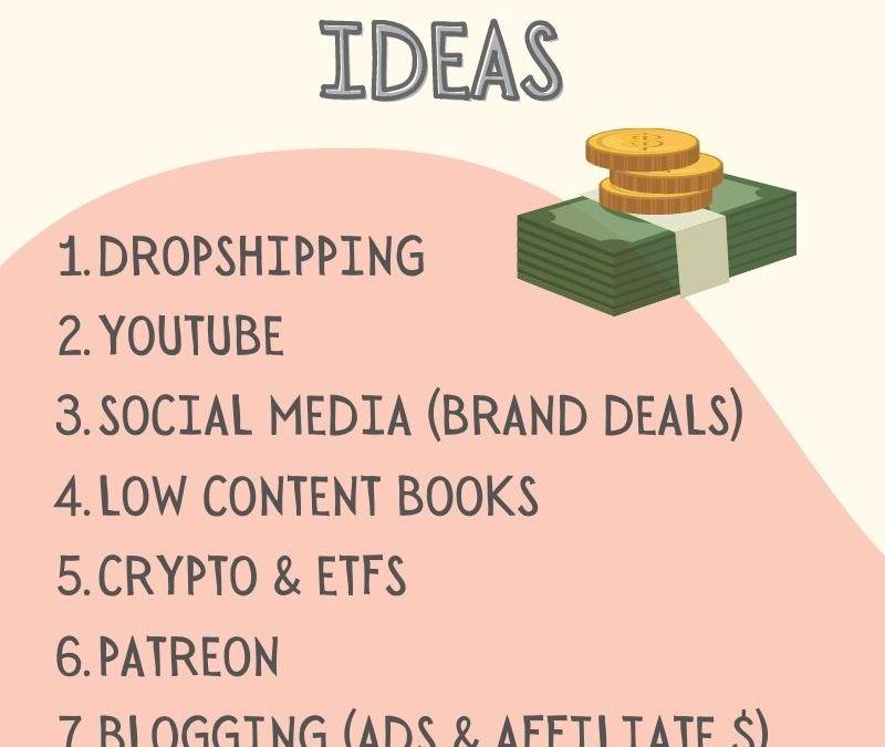 10 Unique Ways to Make Money Online Now