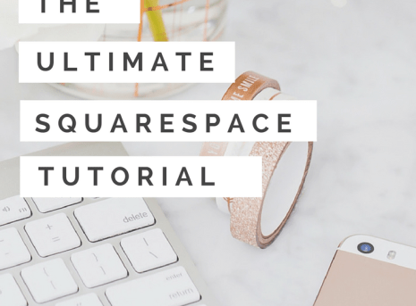Ultimate Squarespace Menu and Design Tutorial