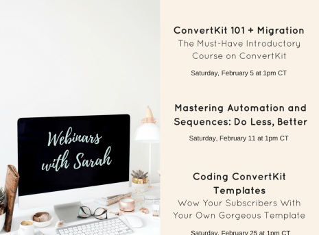 Introducing the Mastering ConvertKit Training Series