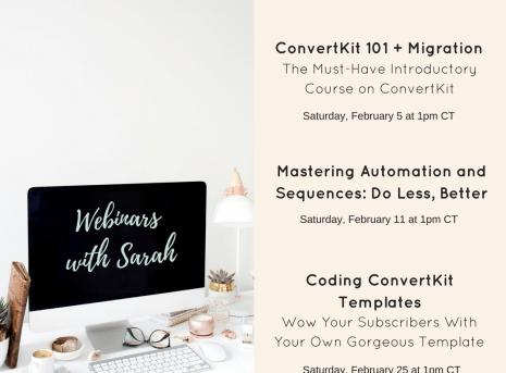 Introducing the Mastering ConvertKit Training Series