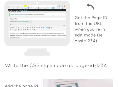 How to Make A CSS Change to A Single Page in WordPress