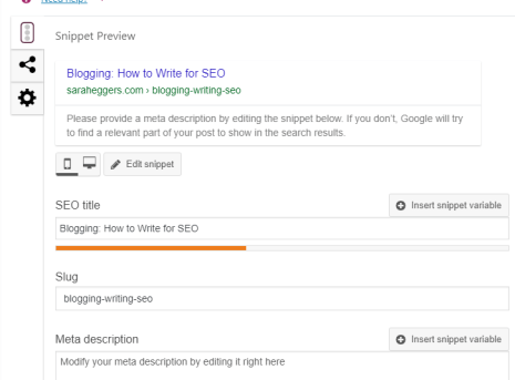 How To Write Your Blog Post So That It Has Great SEO