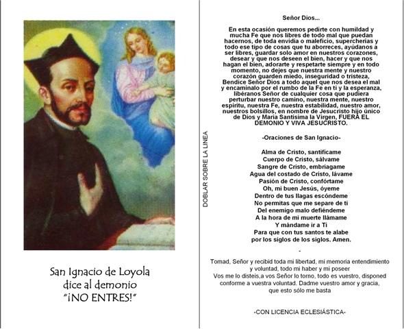 ORACIONES PARA PEDIR PROTECCIÓN, en latín y español (2/6)