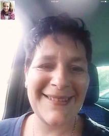 Skypen with Mom on Mother's Day