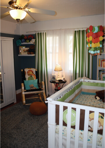 Bright and Cheerful Nursery 1