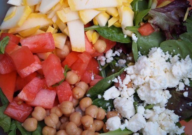 Grilled Chicken Summer Greek Salad Recipe
