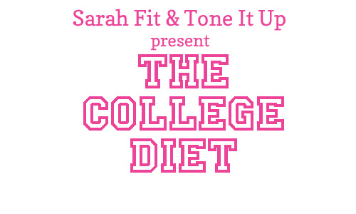 Back To School College Diet Preview