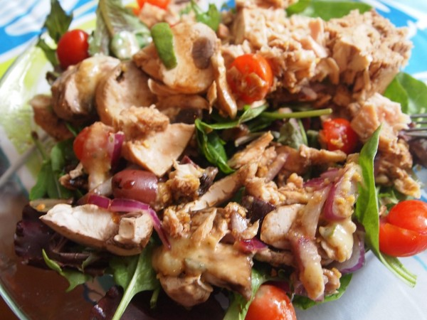 My Signature Simple Lunch Salad Go-To