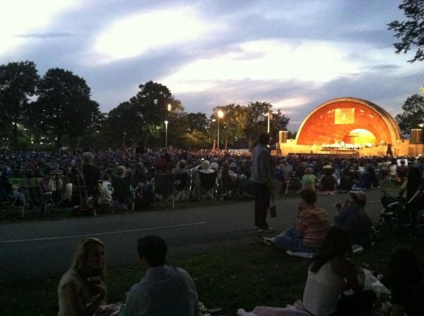 Landmark Orchestra Picnic Summer Goodbye