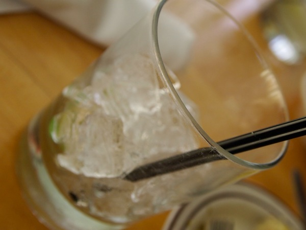 margarita glass empty