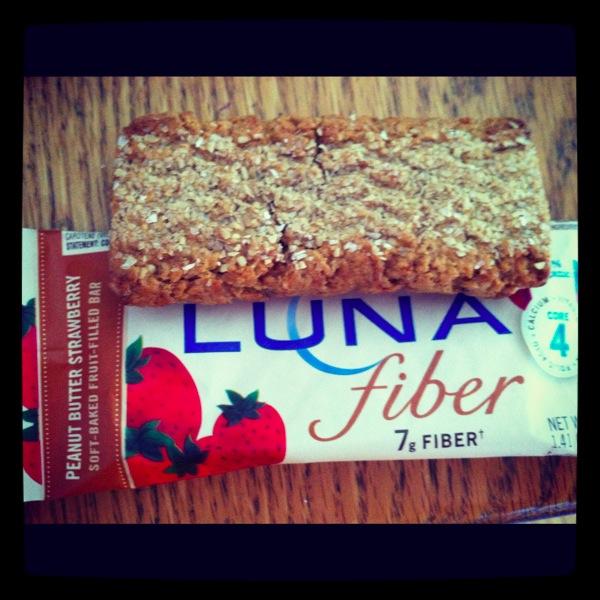 Luna Fiber Bar Peanut Butter